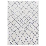 Webteppich Dream - Blau/Weiß, MODERN, Textil (120/180cm) - Schöner Wohnen