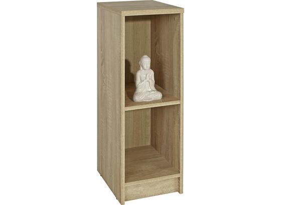 Regál 4-you Yur04 - dub sonoma, Moderný, kompozitné drevo (30/85,5/35,2cm)