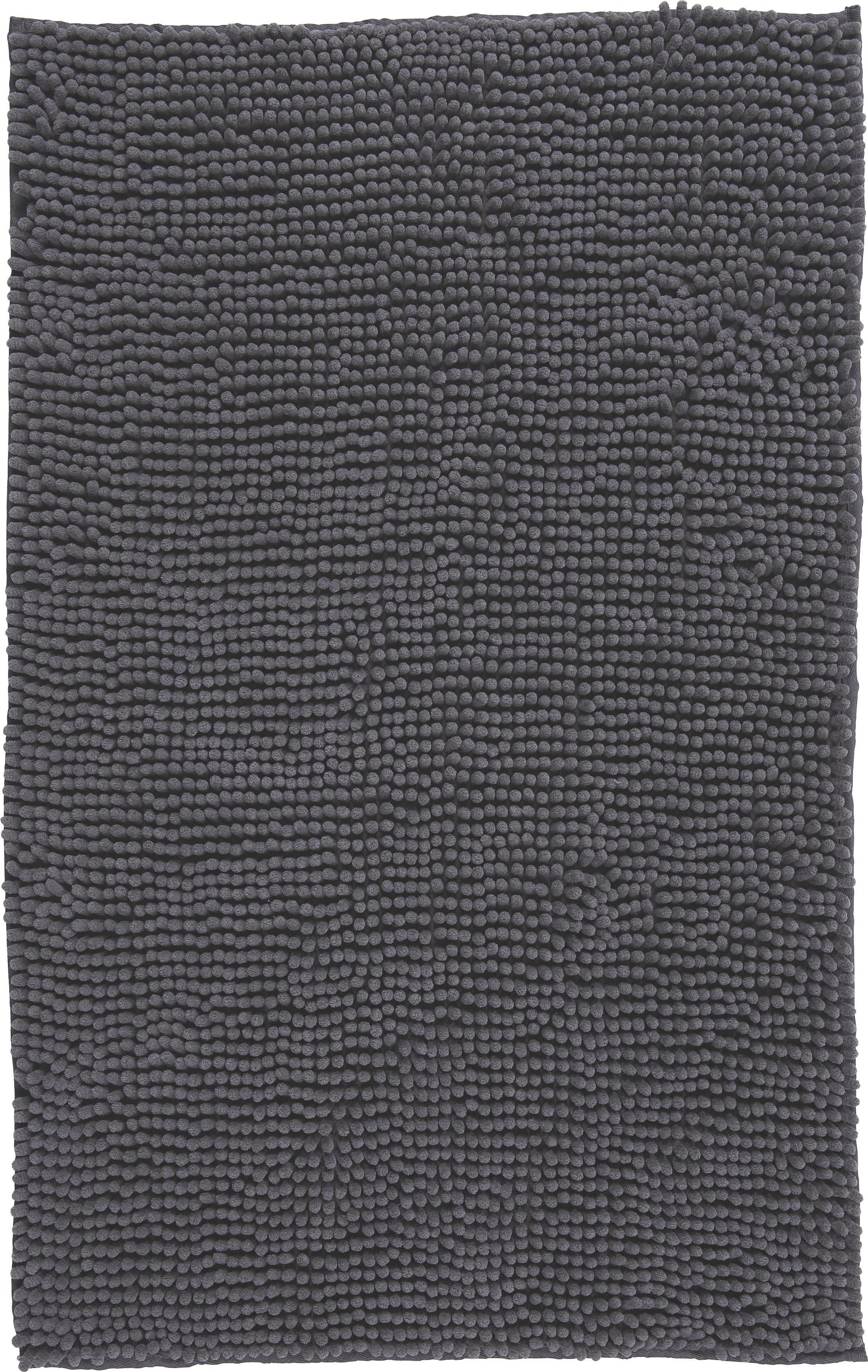 Fürdőszobaszőnyeg Anke - szürke, modern, textil (60/90cm) - LUCA BESSONI