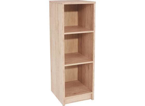 Regál 4-you Yur05 - barvy dubu, Moderní, kompozitní dřevo (30/111,4/34,6cm)