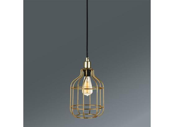 Závesná Lampa Skeletton - zlatá, Štýlový, kov (14/14/110cm) - Mömax modern living
