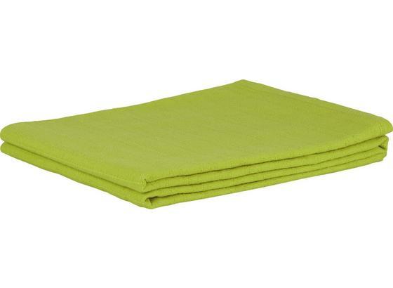 Prehoz Solid One -ext- - zelená, textil (140/210cm)