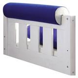Nackenrolle Blau/Weiß L: 79cm - Blau/Weiß, KONVENTIONELL, Textil (79/16,5/16,5cm) - Livetastic