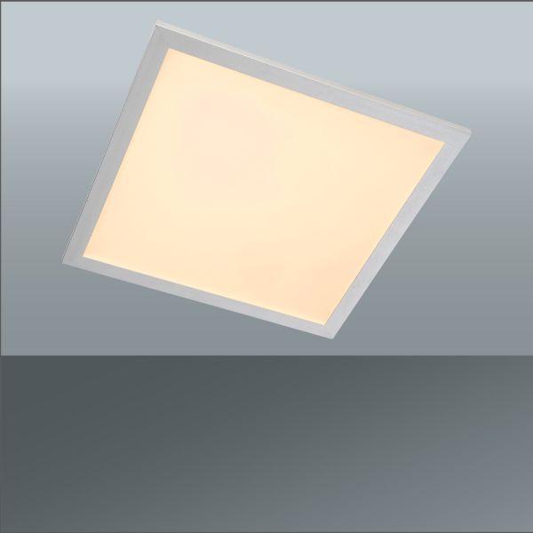 Led Stropná Lampa Dila - Konvenčný, umelá hmota/kov (37,5/37,5/4cm) - MÖMAX modern living