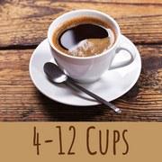 Trisa Kaffeemaschine Perfect Coffee Thermoskanne -12 Tassen - Silberfarben/Schwarz, Basics, Kunststoff (24,5/19/34cm)