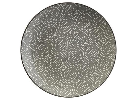 Dezertný Tanier Nina - sivá, keramika (20cm) - Mömax modern living