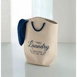 Wäschebox Naval Laundry - Beige, Basics, Textil (35/33/60cm) - Kleine Wolke