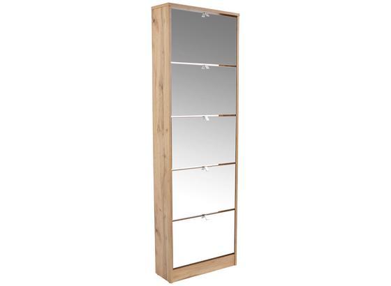 0e4a2ccc42eaf Skrinka Na Topánky Sg 15 - 2 - farby dubu, Moderný, kompozitné drevo (