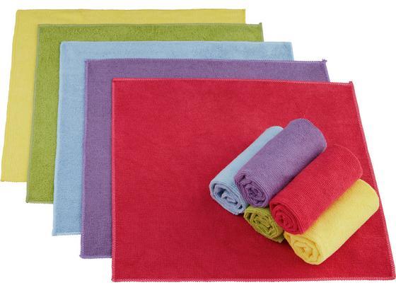Utěrka Z Mikrovlákna 'ricky' - pink/zelená, textil (35/35cm) - Mömax modern living