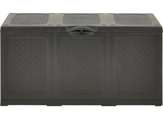 Bedna Na Polštáře Hippo - světle šedá/antracitová, umělá hmota (120/60/52cm) - Mömax modern living