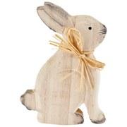 Dekohase Alanis - Naturfarben, KONVENTIONELL, Holz/Textil (10,5/15/2,5cm) - Ombra