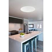 LED-Deckenleuchte Giron - Weiß, MODERN, Kunststoff/Metall (100/12cm)