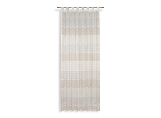Kombivorhang Anca - Beige, MODERN, Textil (140/255cm) - Luca Bessoni