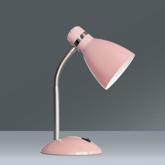 Lampa Stolní Elif - starorůžová, Romantický / Rustikální, kov (35cm)