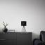 Stolní Svítidlo Evelyn - černá, Lifestyle, kov (17/35cm) - Modern Living