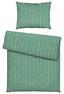 Povlečení Konsti - jadeitově zelená/antracitová, Konvenční, textilie (140/200cm) - Mömax modern living
