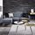 Sedací Souprava Tamara - šedá/tmavě modrá, Moderní, dřevo/textil (197/136cm) - Modern Living