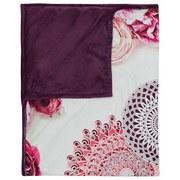 Kuscheldecke Jamuna - Bordeaux, Textil (130/160cm)