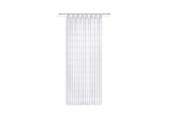 Kombivorhang Halina - Weiß, KONVENTIONELL, Textil (145/245cm) - Luca Bessoni