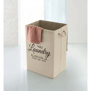 Wäschebox Vita Laundry - Beige, Basics, Textil (40/30/60cm) - Kleine Wolke