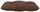 Sitzkissen Elli 38x38 cm - Braun, KONVENTIONELL, Textil (38/38/6cm) - Ombra