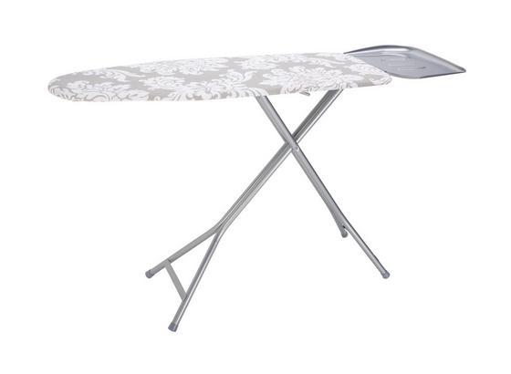 Prkno Žehlicí Kate - šedá/bílá, textil (40/120cm) - Mömax modern living