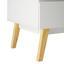 Šatná Skriňa Milo - biela, Moderný, drevo (80/205/60cm) - Modern Living