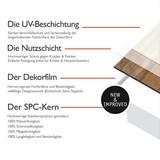 Vinylboden Promo 2569 Eiche Dark Grey - Dunkelgrau, Basics, Kunststoff/Stein (121,9/0,35/18,3cm)
