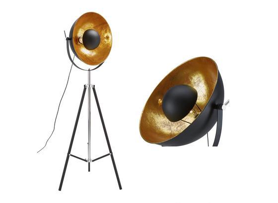 Stojací Svítidlo Jule - černá/barvy zlata, Lifestyle, kov (50/176cm) - Mömax modern living