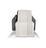 Wohndecke Theres 130x170cm - Weiß, MODERN, Textil (130/170cm) - Luca Bessoni