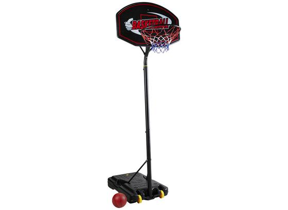 Basketbalový Stojan S Obručou Mike -ext- - čierna, Basics, plast (89/322/89cm)