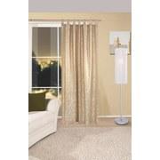 Vorhang mit Schlaufen und Band Linda B: 140 cm, Beige - Beige, KONVENTIONELL, Textil (140/255cm) - Ombra