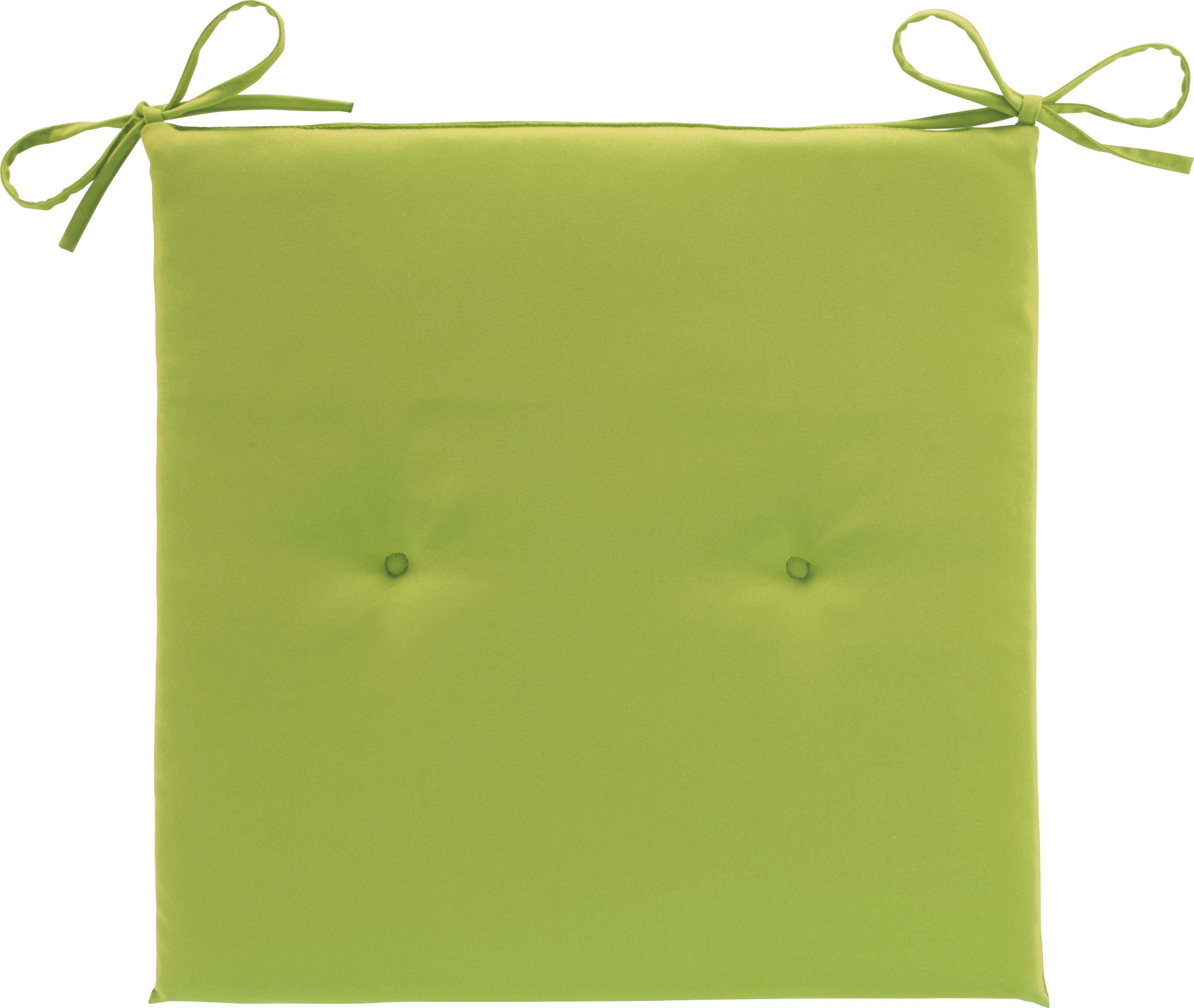 Polštář Na Židli Smokey - zelená, textil (40/2,5/40cm) - MÖMAX modern living