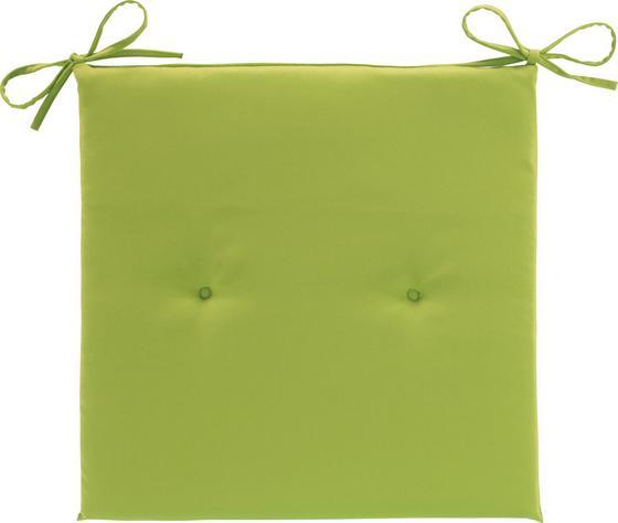 Vankúš Na Stoličku Smokey - zelená, textil (40/2,5/40cm) - MÖMAX modern living