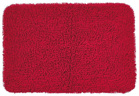 Badematte Lilly - Pink, KONVENTIONELL, Textil (60/90cm) - Ombra