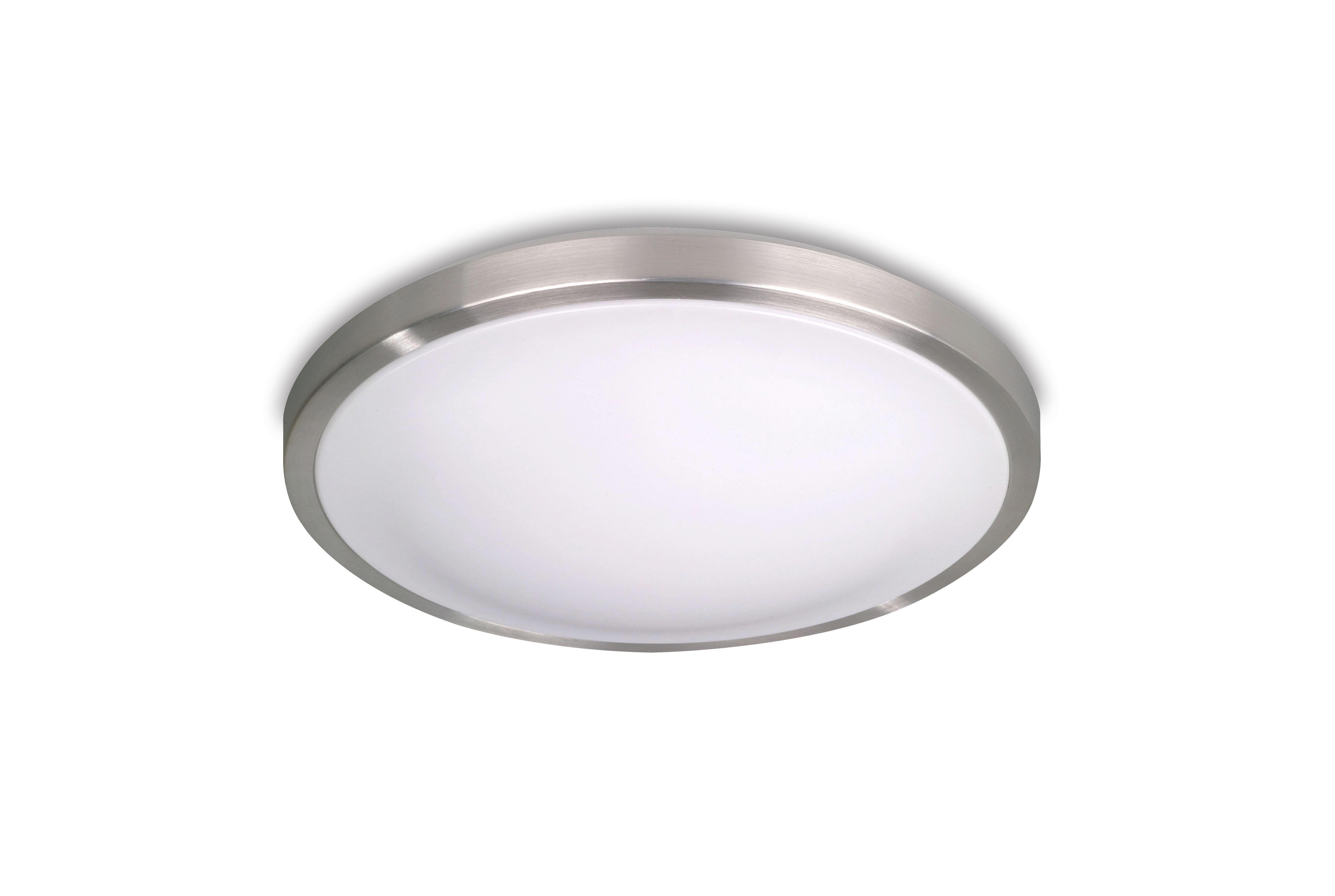 Deckenleuchte Calina - KONVENTIONELL, Kunststoff/Metall (26/7cm) - LUCA BESSONI