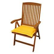 Gartensitzkissenset Premium T: 50 cm Gelb - Gelb, Basics, Textil (50/8-9/50cm) - Ambia Garden