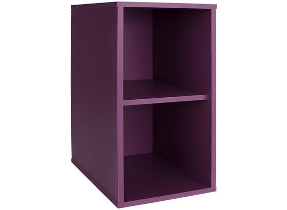 Regal Box - Grau, MODERN, Holzwerkstoff (23/46/25cm)