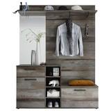 Garderobe Complete B:150cm Driftwood Dekor - MODERN, Holzwerkstoff (150/200/38cm)