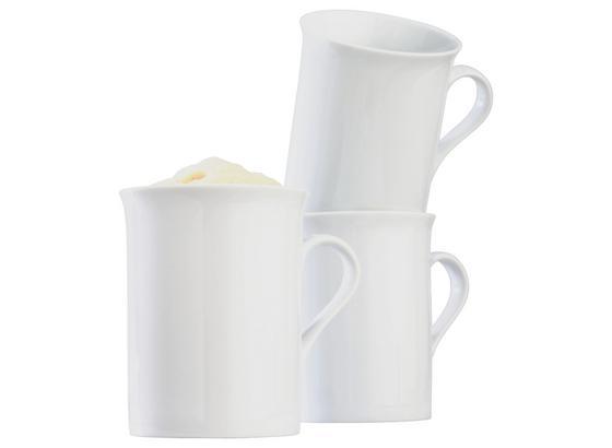 Hrnček Na Kávu Adria - biela, Konvenčný, keramika (255ml) - Mömax modern living