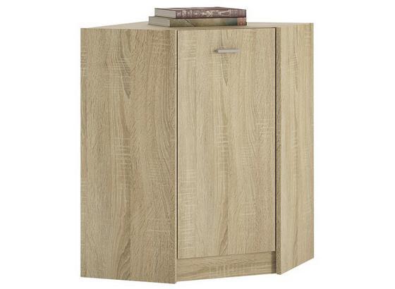 Komoda 4-you Yuk10 - dub sonoma, Moderný, kompozitné drevo (60,9/85,4/60,9cm)