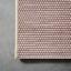 Koberec Tkaný Na Plocho Kate 1 - bílá/šeříková, Moderní, textil (80/200cm) - Modern Living