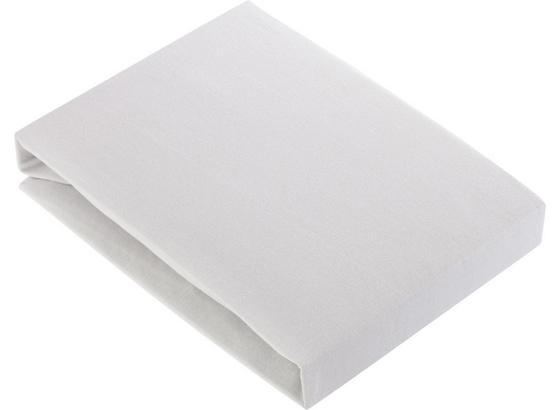 Prostěradlo Napínací Basic - barvy stříbra, textil (180/200cm) - Mömax modern living