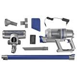Akku-Bodenstaubsauger Cleanmaxx 22,2 V - Blau/Silberfarben, Basics, Kunststoff/Metall (11/23/11cm) - TV - Unser Original