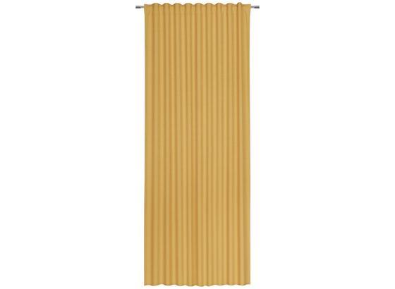 Závěs Leo -top- - žlutá, umělá hmota (135/255cm) - Premium Living