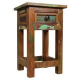 Beistelltisch Kalkutta L: ca. 30 cm - Braun, Design, Holz (30/30/50cm) - Carryhome