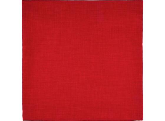 Poťah Na Vankúš Leinenoptik - červená, Konvenčný, textil (60/60cm) - Mömax modern living
