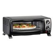 Trisa Mini-Backofen Pizza Al Forno - Schwarz, Kunststoff (46,5/22,5/37,8cm)