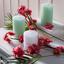 Svíčka Lia - bílá, Moderní (6,8/9cm) - Premium Living