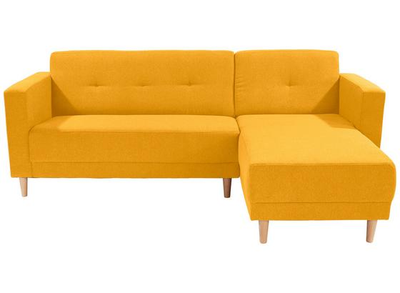 Sedací Souprava Geneva - žlutá, Moderní, textil (217/144cm)